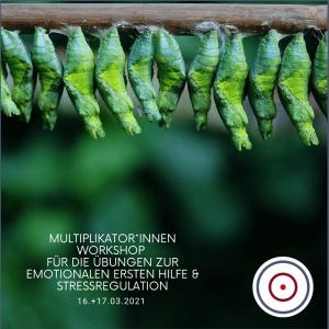 Workshop: Multiplikator*innen-Training für die Übungen zur Emotionalen Ersten Hilfe / Stressregulation vom 16.-17.03.2021