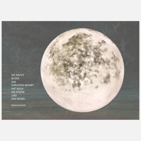 Postkarte: Die Nacht in der das Fürchten wohnt - Mondbild